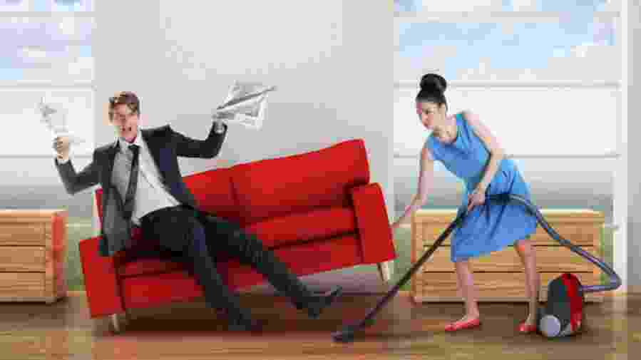 coppia pulizie