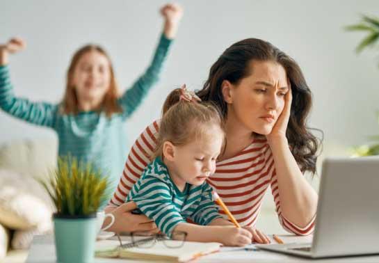 smart working genitori
